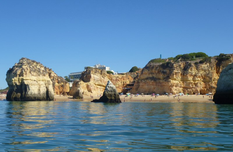 Drive your Faro Car Rental car to the most beautiful beaches in Algarve